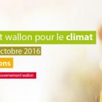 Sommet wallone pour le climat